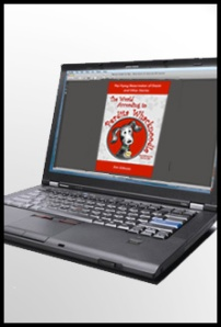 Perdita Whacknoodle Book Cover on a PC