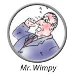 Mr. Wimpy, Par's nemisis