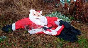 Deflated Santa Blow-Up