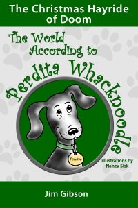 The Christmas Hayride of Doom: A Funny Dog Book for Kids